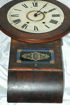 Antique Anglo American Jerome Wall Clock,restore.