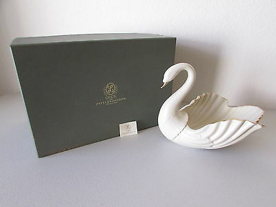 Lenox Millennium Collection Large Swan Centerpiece Bowl Never Used Limited