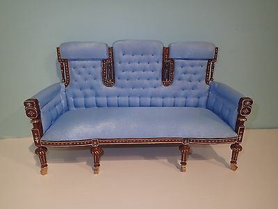 "1/6 th scale Chinois settee 12"" to 14"" doll highend quality JBM"