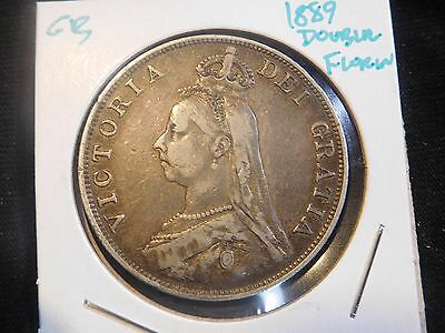Great Britain 1889 Double Florin