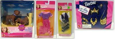 Lot of 4 Barbie Fashions/Bobbin' Bow-Wows/Pretty Treasures/Totally Sports/Cool &