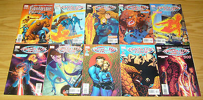Fantastic Four #500-526 VF/NM complete run - mark waid - mike wieringo - marvel