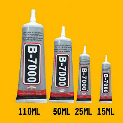 B-7000 Glue Industrial Adhesive for Phone Frame Bumper Jewelry 50ml