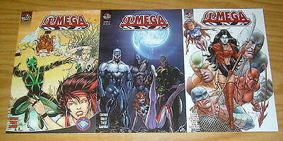 Omega One #1-3 VF/NM complete series - mario gully's ant - bill tucci's shi lot