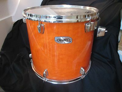 Mapex M 16 x 14 Floor Tom, Maple/Birch, Amber Lacquer, MINT CONDITION!