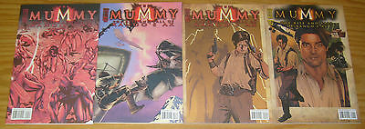 the Mummy: the Rise and Fall of Xango's Ax #1-4 VF/NM complete series - prequel