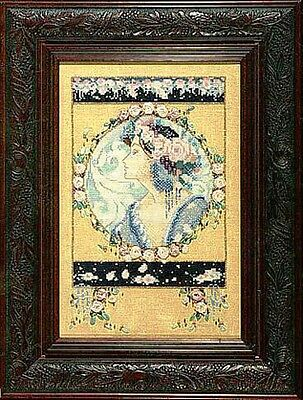 """SALE! COMPLETE XSTITCH KIT """"ENGLISH ROSES"""" by Mirabilia"""