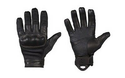 Magpul MAG855 Men's Black Leather Core Breach Gloves - Size Large