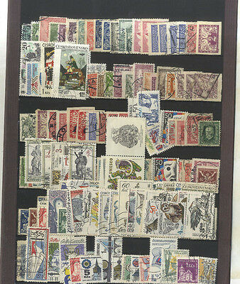 Lot 191 Timbres Tchecoslovaquie  Europe