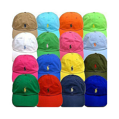 Polo Ralph Lauren Boys Girls Chino Adjustable Ball Cap Hat VARIETY COLORS 2T-20