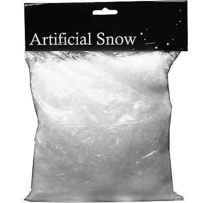 135g Winter Wonderland Christmas Party Fake Plastic Snow Snowflake Sprinkles