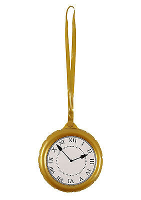 Inflatable Clock Party Supplies Blow Up Pocket Watch Fancy Dress Alice Decor144