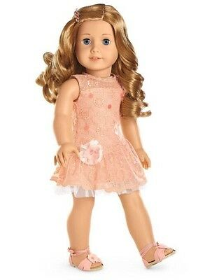 "AMERICAN GIRL 18"" OUTFIT Shimmer & Lace Dress Shoes for Doll - NEW IN BOX NIB"
