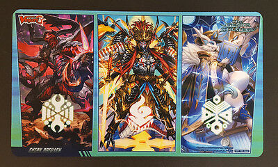 Cardfight Vanguard Playmat - G-TCB02 Genius Strategy - CCG TCG Play Mat - New