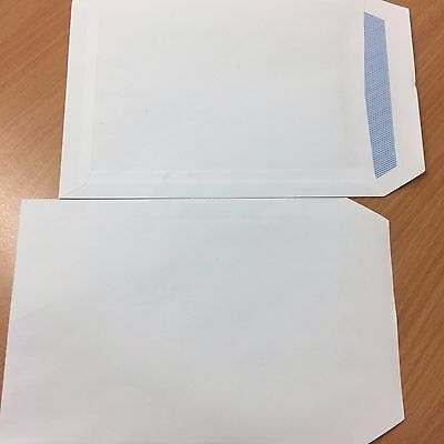Box of 500 c5 90 gsm White Self Seal Business Envelopes No Window +Free 24H