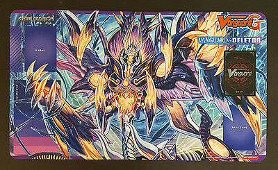 Cardfight Vanguard - Vanguard & Deletor Sneak Preview Playmat G-CMB01 - New