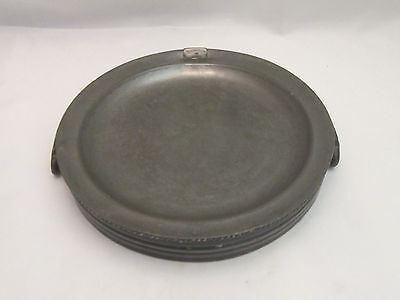 A Fine 19th Century Pewter Dish Warmer by Dixon & Son