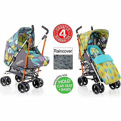 New Cosatto To And Fro 2 In 1 Pram / Pushchair Baby Stroller Fire Bird