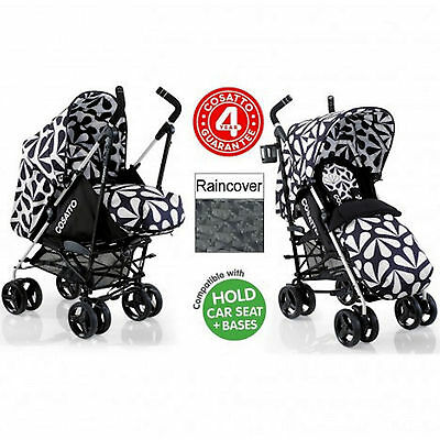 New Cosatto To And Fro 2 In 1 Pram / Pushchair Baby Stroller Charleston