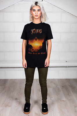 Official Dio Last In Line Unisex T-Shirt Holy Diver Sacred Heart Magica Rock