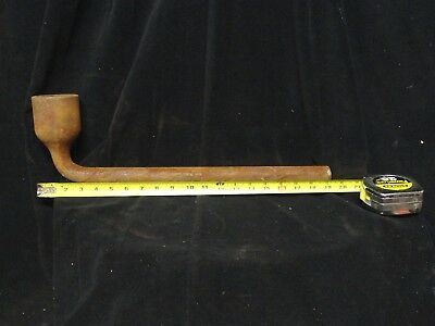 "BETHLEHEM STEEL 22"" Long * 2-1/8"" LUG WRENCH * by WILLIAMS * SHIP BUILDERS TOOLS"
