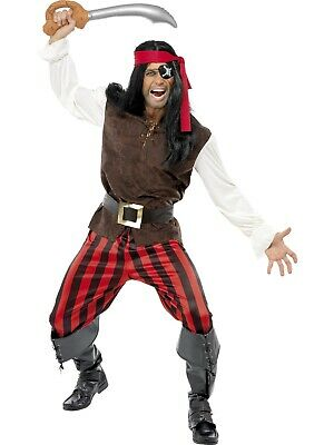 Pirates Of The Caribbean Cosplay Pirate Captain Scarlet Black Heart Costume