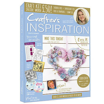Crafters Companion - CRAFTERS INSPIRATION - Issue 14 Summer Edition FREE UK P&P