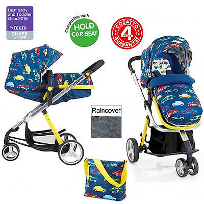 New Cosatto Woop 2 In 1 Pram Baby Pushchair Stroller & Accessories Rev Up