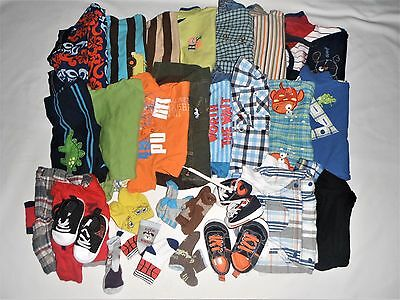 LOT BABY BOY SUMMER CLOTHES NEWBORN 0-3 3-6 MONTHS 0/3 3/6 INFANT boys ROMPERS