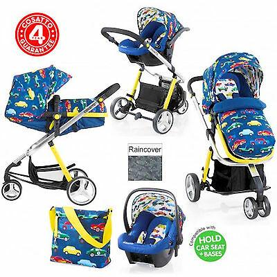 New Cosatto Woop Travel System Baby Pram Pushchair Stroller Rev Up
