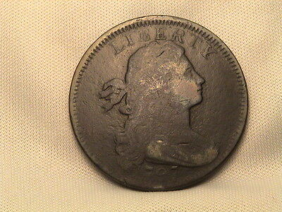 1797  Draped Bust Large Cent!