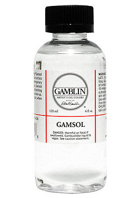 Gamblin : Gamsol Odourless Mineral Spirit : 118ml : By Road Parcel Only
