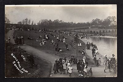 Coventry - Nauls Mill Park - real photographic postcard