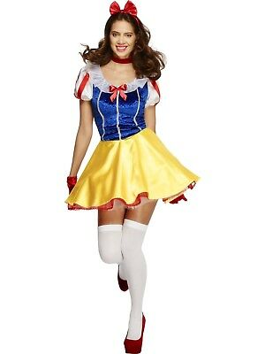 Fever Fairytale Princess Disney Snow White Fancy Dress Costume Storybook