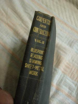 Carpentry & contracting Vol 2 1920 blueprint reading