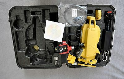 Topcon Gpt-3007N Reflectorless  Total Station Calibrated,cable,manual,prism