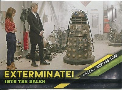 Doctor Who Timeless Daleks Across Time Exterminate Chase Card #9