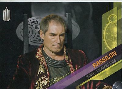 Doctor Who Timeless Time Travelers Chase Card #10