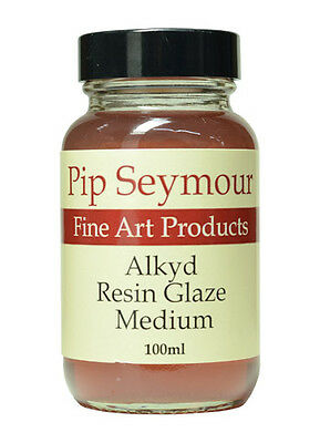 Pip Seymour : Alkyd Resin Glaze Medium : 100ml : By Road Parcel Only