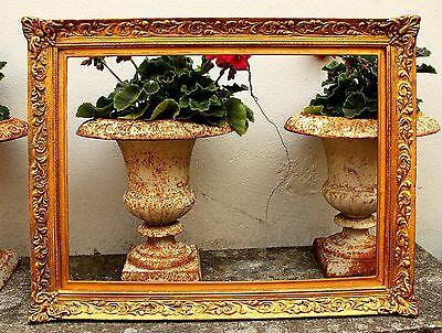 Stunning Mid C20th Highly Ornate Rococo Gilt Gesso Frame
