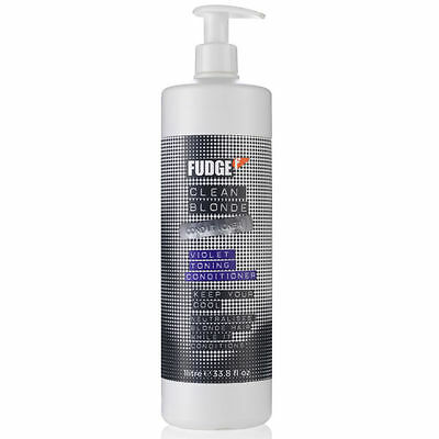 Fudge Clean Blonde Violet Conditioner 1000Ml (With Pump) 3 Day Of Special Offer