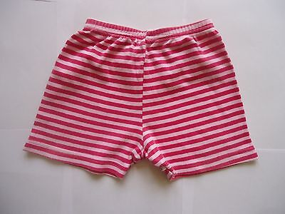 MOTHERCARE Pink Striped Shorts Age 6-9 Months