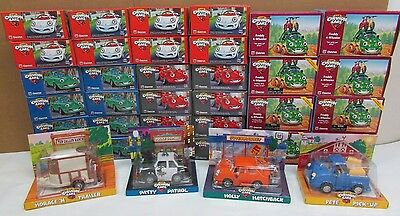 36 Collectible CHEVRON CARS Animated Toys NIB NOS Gas Fuel Station Advertising