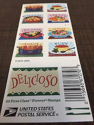 WCstamps: $490.00 Face Value - 50 Books (1,000) USPS Forever Stamps, New LOT#005
