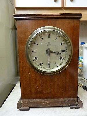 Old-Antique ? Electric Bracket Clock - Gvr Engraved On Dial