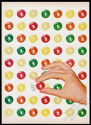 1956 Life Savers candy 5 flavors covering page vintage print ad