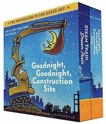 Goodnight, Goodnight, Construction Site and Steam Train, Dream ... 9781452146980