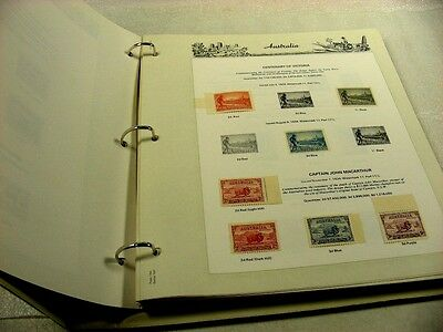 AUSTRALIA, Excellent Stamp Collection hinged on Seven Seas pages