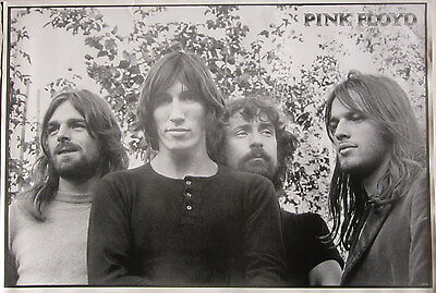 """PINK FLOYD """"70's GROUP SHOT"""" POSTER FROM ASIA - Waters, Gilmore, Wright & Mason"""