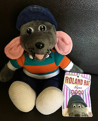 Collectable Roland Rat Super Star Soft Toy ~ BNWT ~ Rare
